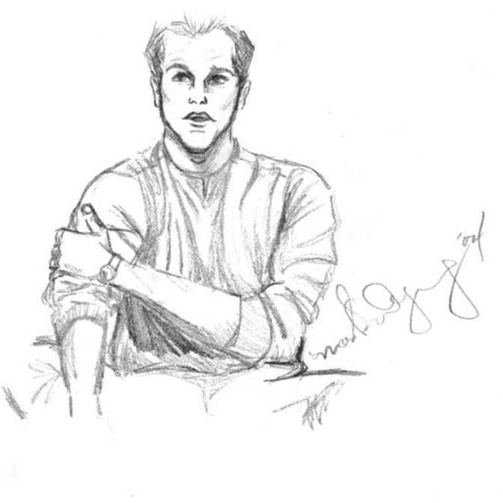 Matt Damon por lokibartleby04